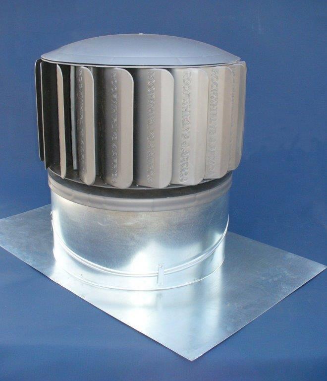500mm roof whirly - roof mounted wind turbine ventilator