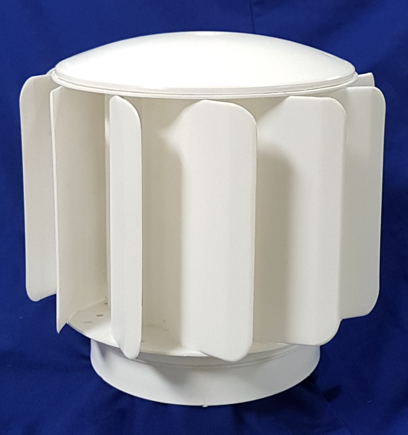 Sewer / toilet vent 250mm diameter to fit 110mm pipe (available in silver and ivory-white)