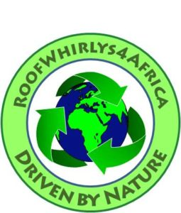 RoofWhirlys4Africa Logo Driven by Nature